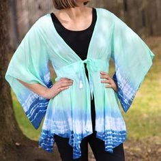 Summery Kimono Cover-Up | AllFreeHolidayCrafts.com