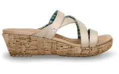 Crocs: A-Leigh Mini Wedge leather... tooooo cute!