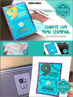 7376a565daa42 DIY - Faça Você mesmo convites personalizados O mercado de convites  personalizados não para de crescer. E para dar um toque de sofisticação ao  seu trabalho, ...