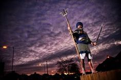 A brilliant man from the Black Country who practices the dying Sikh martial art called Gatka.