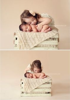 Fawn Over Baby: Beautiful Sibling Photography Session by TG Photography By Trisha