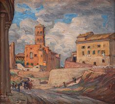 Prins Eugen 1865-1947:  Vid Colosseum, 1922