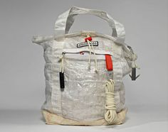 Tom Sachs  NIKECraft: Lightweight Tote SOLD OUT For everyday superheroes.  Cuben fiber, most commonly used as sailcloth, is a laminated fabric constructed from ultra-high molecular weight polyethylene (UHMWPE) fiber monofilaments, polyester and other films.