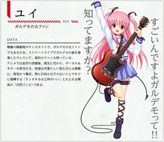 Pinterest Angel Beats, Character Sheet, Yui, Image Boards, Novels, Tags, Studio, Memes, Anime