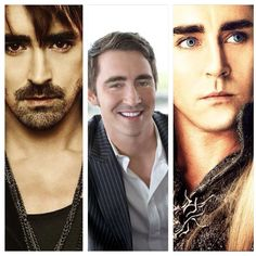 Lee Pace.  Elf King, Vampire, Pie Maker and all around good guy.