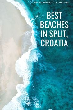 Split beaches have established themselves as some of the most glamorous and beautiful beaches in not only Croatia but all of Europe Best Beaches In Split, Split Croatia Beaches, Tonga, Best Of Croatia, Croatia Travel Guide, Croatia Tours, Fiji Travel, Viajes, Europe