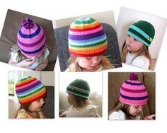 FREE lollipop hat pattern