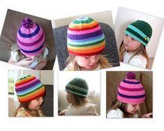 FREE lollipop hat pattern