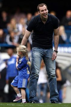 Petr and Adele Cech - Chelsea 2-1 Blackburn Rovers