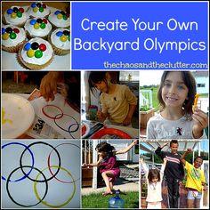 Create Your Own Backyard Olympics