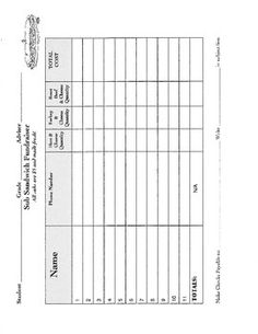 1000 images about fundraiser sheet on pinterest order for Candle order form template