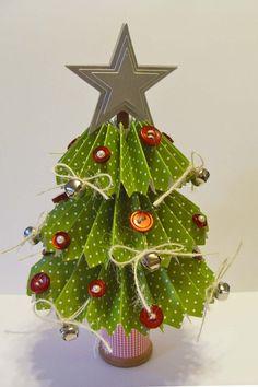 Rosette Christmas Tree Video Tutorial