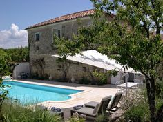 Elegant Charentais house with lovely pool French Country House, Relax, Pools, Outdoor Decor, Elegant, Home Decor, Classy, Chic, Decoration Home