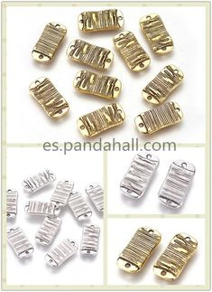 40pcs Antique Silver Tone Patina Wash Small Spacer Flower Nature Tube Beads B...