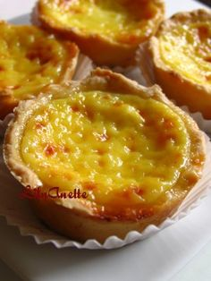 LilyAnette: Asian Nibbles And Sweets Portuguese Sweet Bread, Portuguese Desserts, Portuguese Recipes, Portuguese Food, Puff Pastry Dough, Recipe Mix, Easy Cooking, No Bake Desserts, Sweet Recipes
