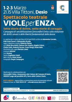 Sette storie di donne, sette storie di coraggio 1-2-3 marzo ore 21.15 Villa Cusani Tittoni Traversi - Desio MB http://www.vetrinesulweb.net/it/component/jevents/icalrepeat.detail/2015/03/01/1031/-/spettacolo-teatrale-violeperenza-desio-mb.html