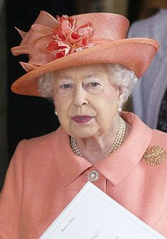 Queen Elizabeth, June 25, 2016 | Royal Hats