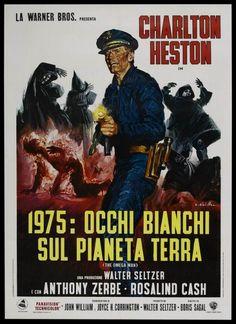 italian movie posters 1950s | The Omega Man (1971) Italian poster