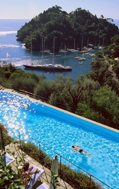 Hotel Splendido, Portofino, Liguria (Génova), Italy  #Beautiful #Places #Photography