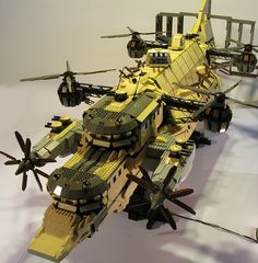 LEGO® MOC Goliath by DeGobbi #aeronef #aerodyne