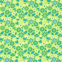 Cotton Flower Benja 2 - Cotton - light green