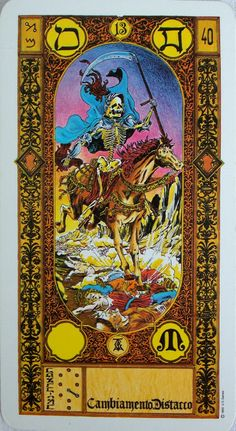 The stairs of gold tarot By M.S. Tavaglione Printed by US Games
