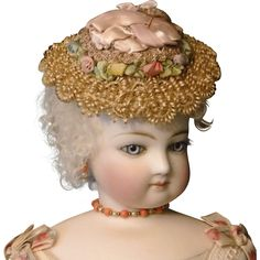 French Fashion Doll Hat from finishing-touches on Ruby Lane