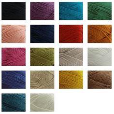 Sirdar Cotton 100gm - 212m $8.49 Deramores