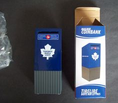 Canada Post Toronto Maple Leafs Small Mailbox Shape CoinBank For Your Coins