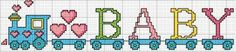 ♥ cross stitch archive ♥: BABY.LEKSAKSTÅG IN CROSS STITCH PATTERN