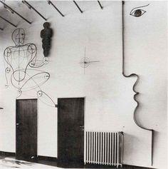 """darquitectura: """" Oskar Schlemmer, Rabe House, 1930 """""""