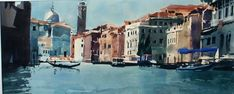 Ian Potts Artist: Sketching Venice Kids Craft Supplies, Venice Painting, Abstract Painters, Contemporary Paintings, Culture, Artist, Prints, Watercolors, Sketch Ideas