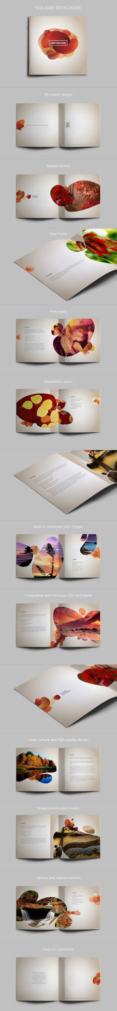 Dig the extension of the graphic on all the pages. Brochure Design by Abra Design, via Behance Layout Design, Graphic Design Layouts, Print Layout, Leaflet Design, Booklet Design, Design Editorial, Editorial Layout, Corporate Design, Layout Inspiration