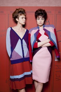 #TataNaka AW13 at #LFW - retro '80s-inspired hairstyles created by #BillWatson and the #ToniAndGuy Session Team
