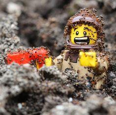 """One nibble"" Photo and caption by  @hendrickej  #legophotography #sweet #comics #awesome #brickfilm #stopmotion #legostagram #awesome #legominifigs #brickfans #creative #legos #lego #bricks #art #bricknetwork #marvel #surfing #creation #funny #photography #minifigure #minifigures #starwars #stormtrooper #lotr #thelegomovie #legoland by bricknetwork"