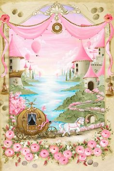 Once Upon a Time, Far Away Canvas Wall Art by Oopsy Daisy