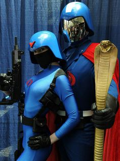 Cobra Commander and soldier