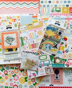 Presenting the My Creative Scrapbook August 2015 Kits