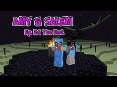 Amy & Salem! Ep.30 The Nether Wart Hunt! - YouTube