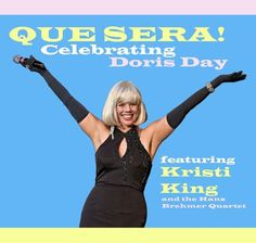 Kristi King celebrates the music of Doris Day with her latest jazz album 'Que Sera' Easy Listening, News Studio, She Song, Beautiful Voice, Dory, Movie Stars, Serum, Compliments, No Response