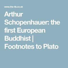 Arthur Schopenhauer: the first European Buddhist | Footnotes to Plato