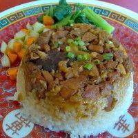 Resep Nasi Tim Ayam Jamur Istimewa