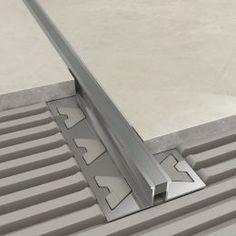Atrim Stainless Steel Flat Listello   Let's Talk Tiling   Est 1980