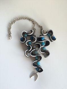 Halskette aus Nespresso Kapseln