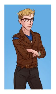 aries4eva303:  illustratedkate:  commission of modern au skinny steve…my favourite pencil  ohcaptainmycaptain1918, this could pretty much be Steve after he's met Bucky in your tattoo shop AU!!