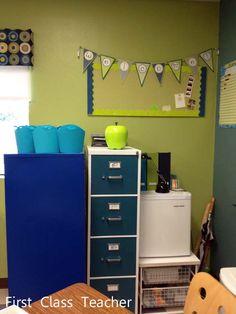 Classroom DIY: DIY File Cabinet Makeover