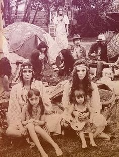 1960s hippies |....... Geez, They make them look like ancient natives.