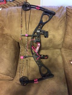 Added more pink to my hoyt charger