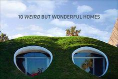 real weird homes