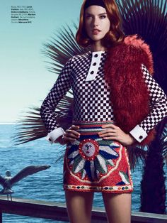 Alessandra Ambrosio is California Dreaming for Vogue Brazil's March Cover Story